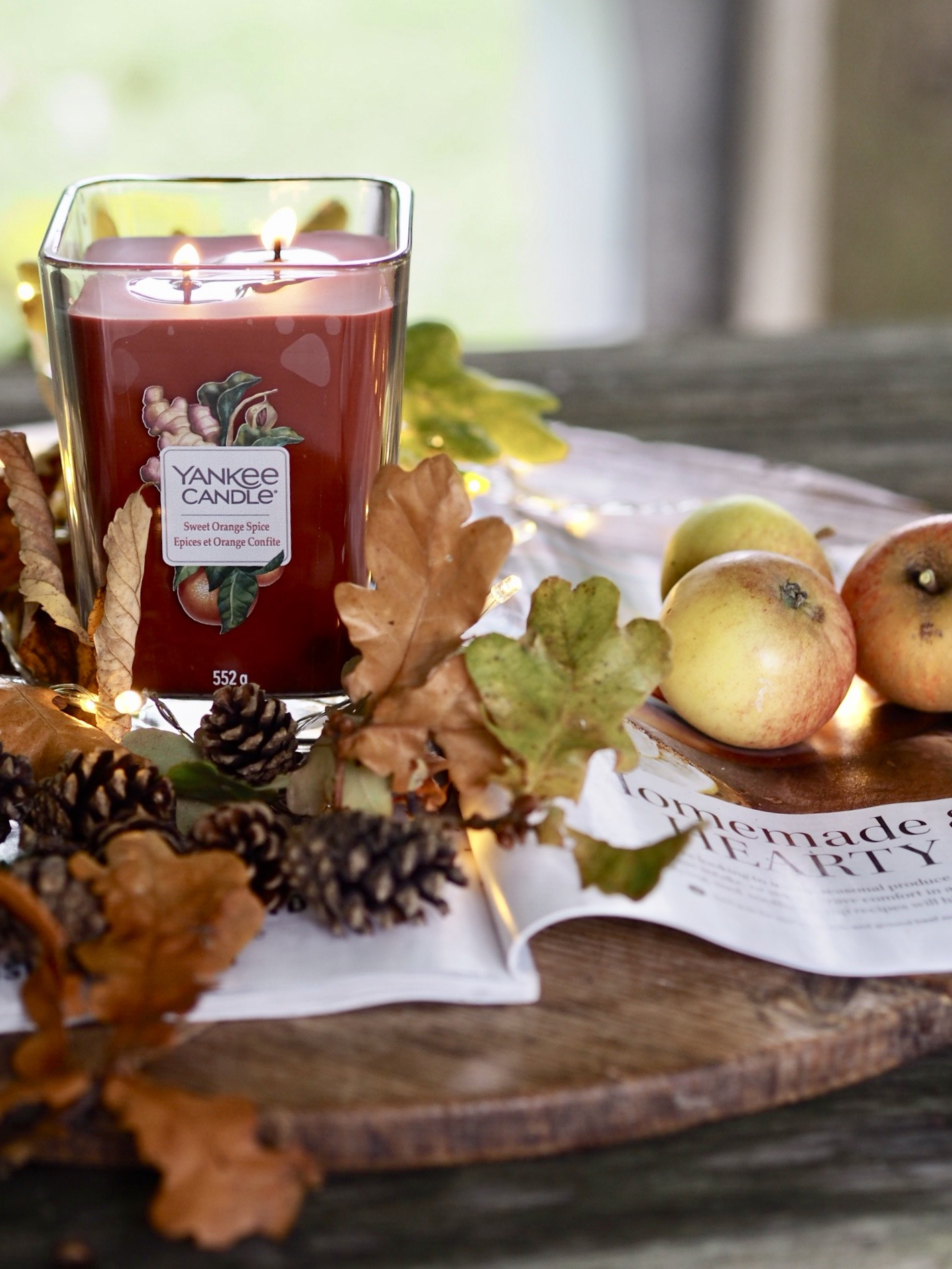 Autumn with Yankee Candle Elevation Collection | Getting